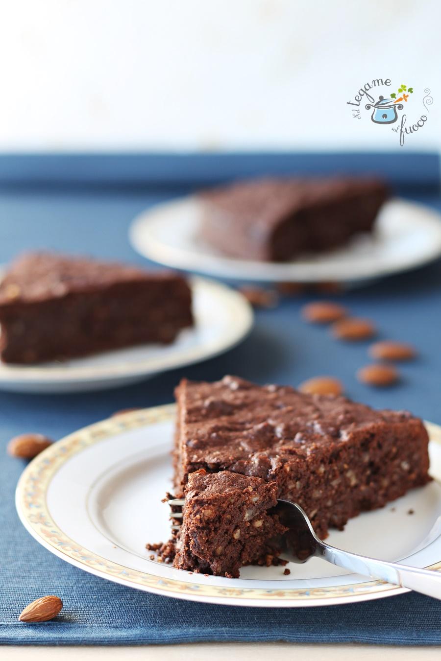 torta alle mandorle senza zucchero a basso indice glicemico