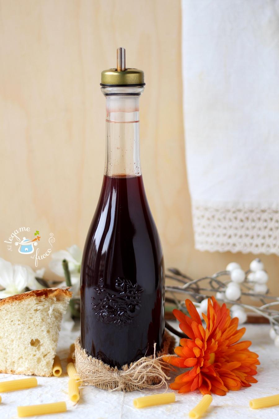 aceto di vino rosso fatto in casa ricetta
