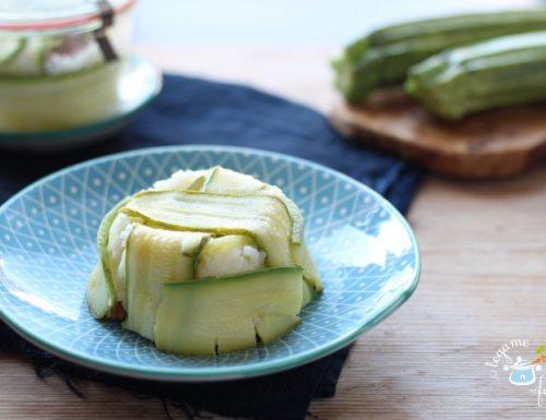 Timballo di zucchine in vasocottura