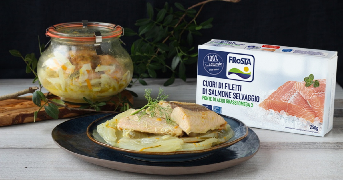 ricetta salmone finocchi vasocottura