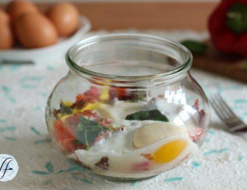 Uova in vasocottura al microonde