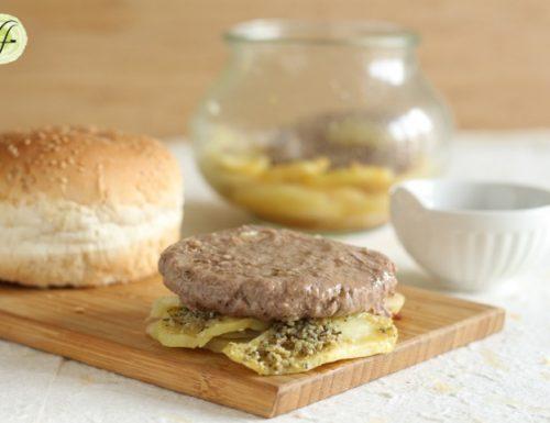 Hamburger in vasocottura – con patate