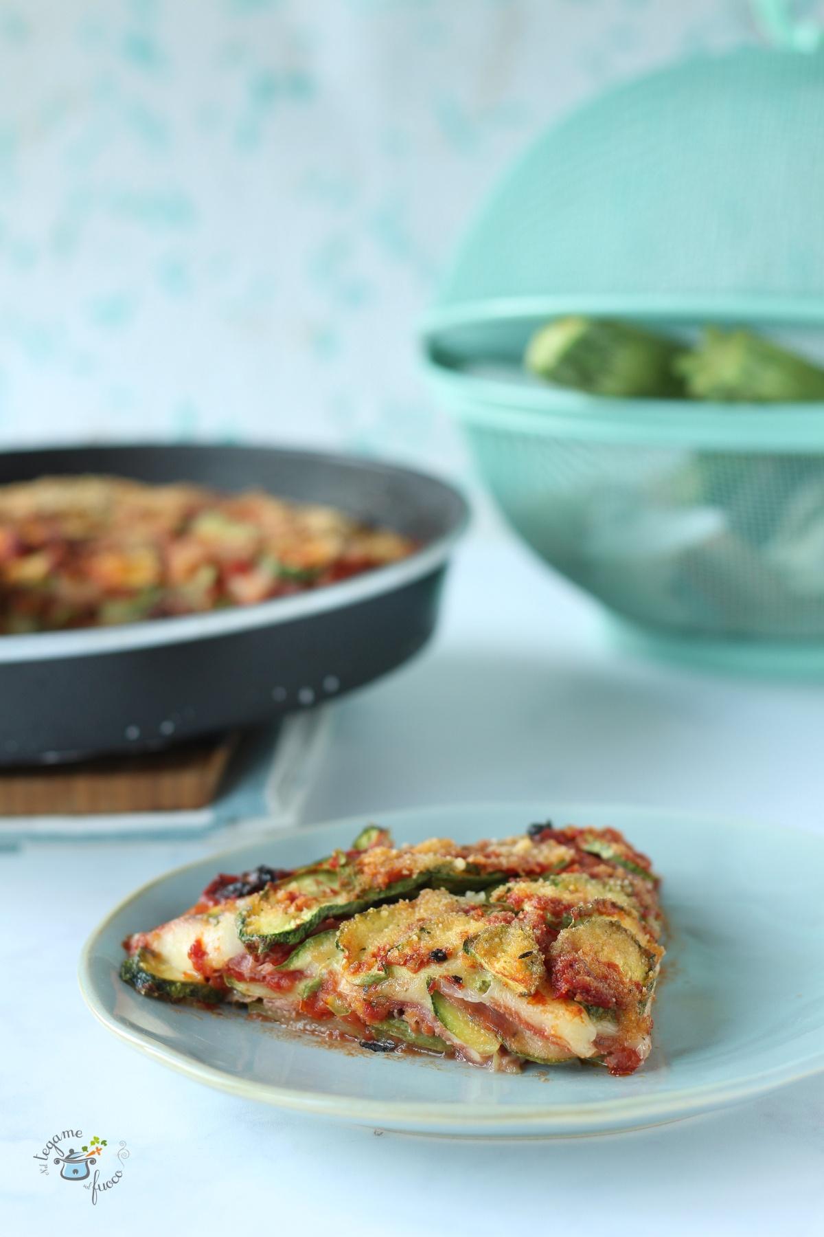 come fare la parmigiana di zucchine al microonde