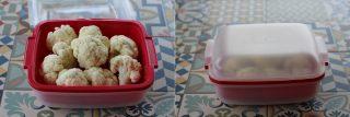 cavolfiore cotto al microonde con la funzione steamer