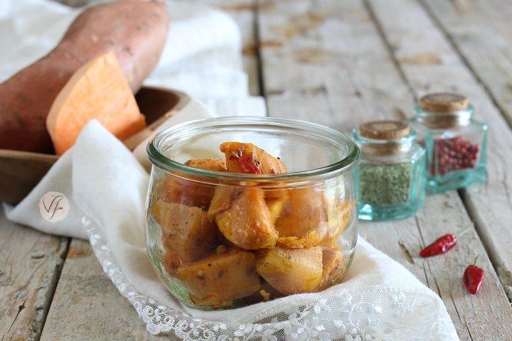 Patate dolci in vasocottura