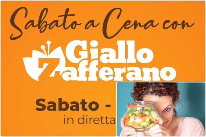 Social dinner in diretta con Giallo Zafferano