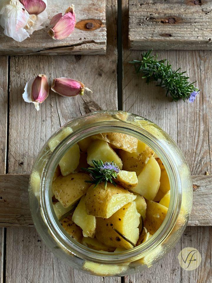 patate arrosto in vasocottura al microonde