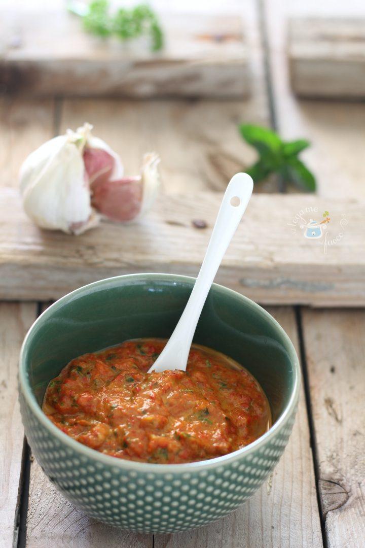 salsa di peperoni piccante per grigliate