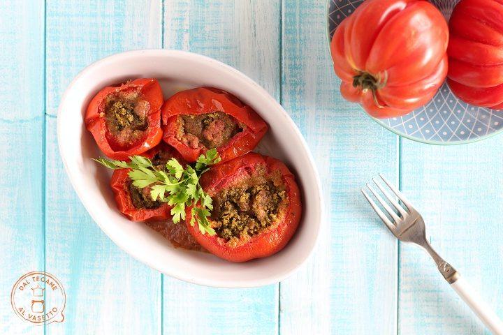 Pomodori alla marchigiana in microonde