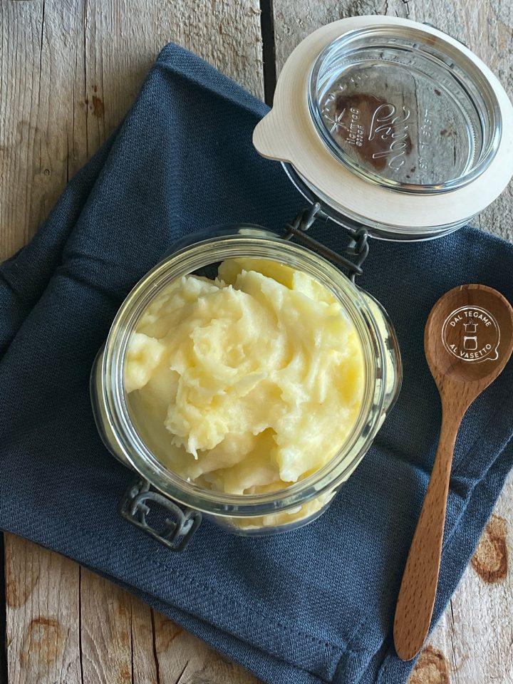purè di patate in vasocottura
