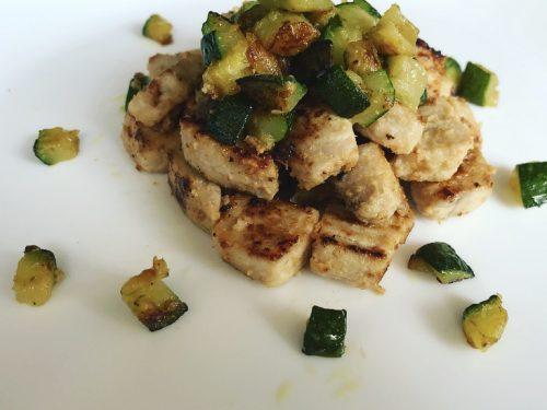Spezzatino di Pesce Spada con dadolata di zucchine – Ricette senza Nichel