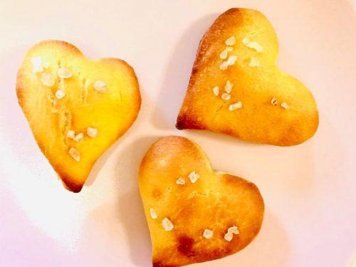Cuori di Focaccia di Kamut – ricetta senza nichel
