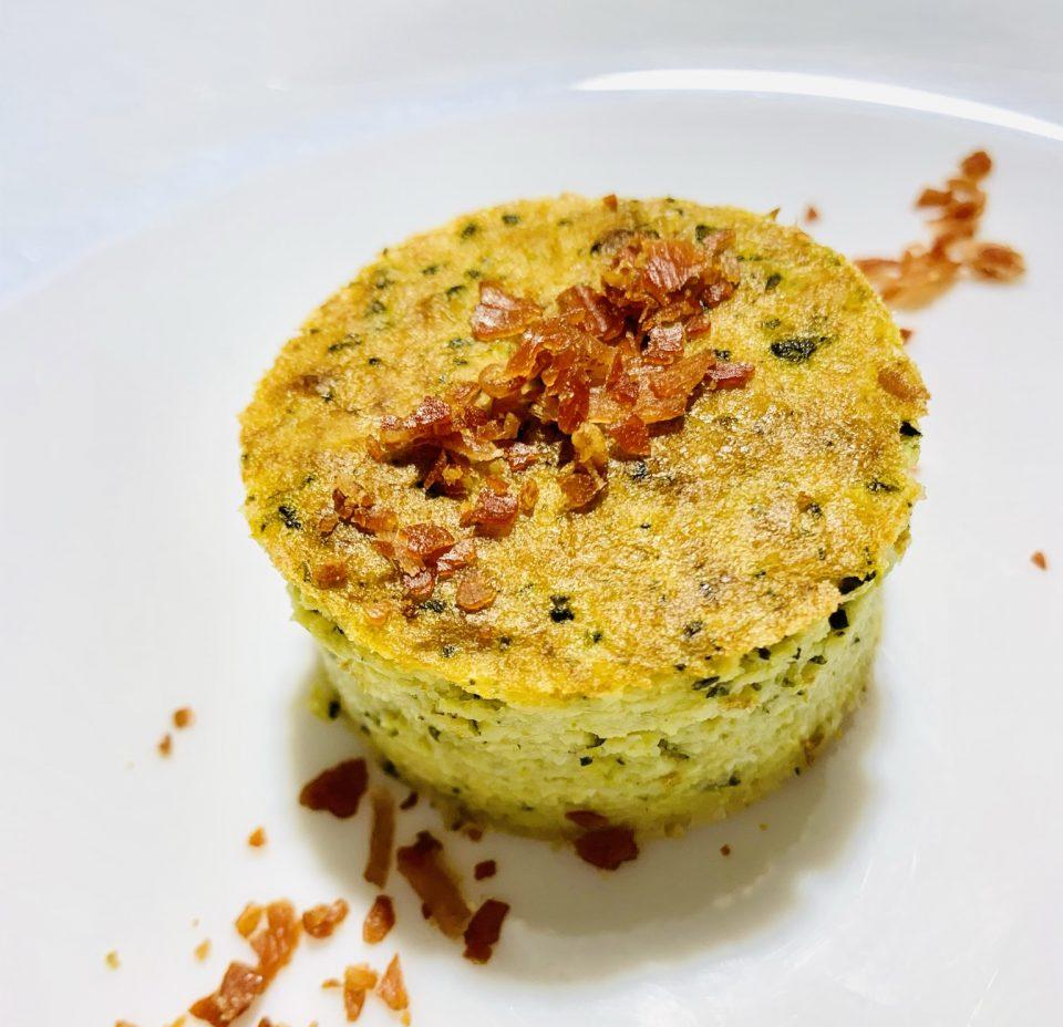 sformato di zucchine al forno senza latte, senza panna, senza nichel