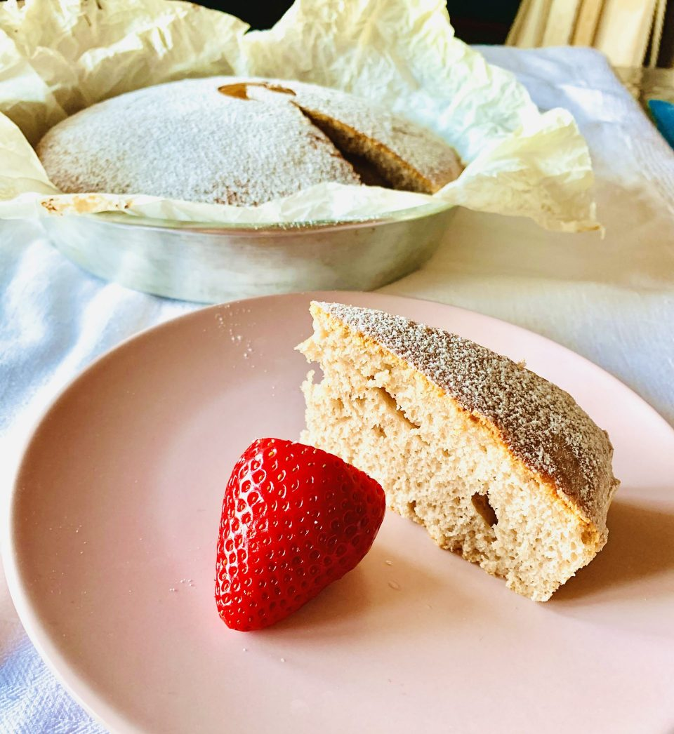pan di fragole - torta alle fragole senza nichel e senza lattosio