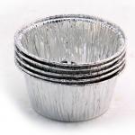 Vasetti di alluminio monouso