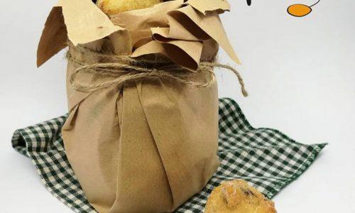 Frittelle di pere, cioccolato e noci (impasto con patata)