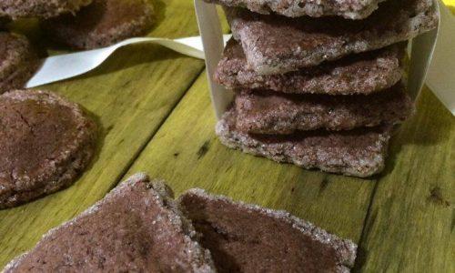 Biscotti al cacao ripieni alle..marmellate!