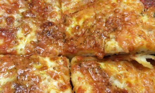 La migliore pizza al taglio con farina di grano duro
