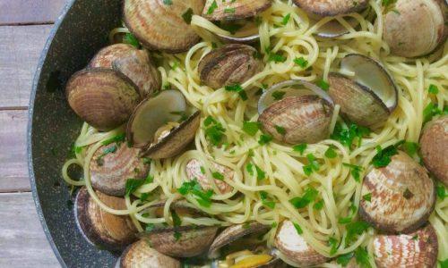 Spaghetti coi tartufi di mare