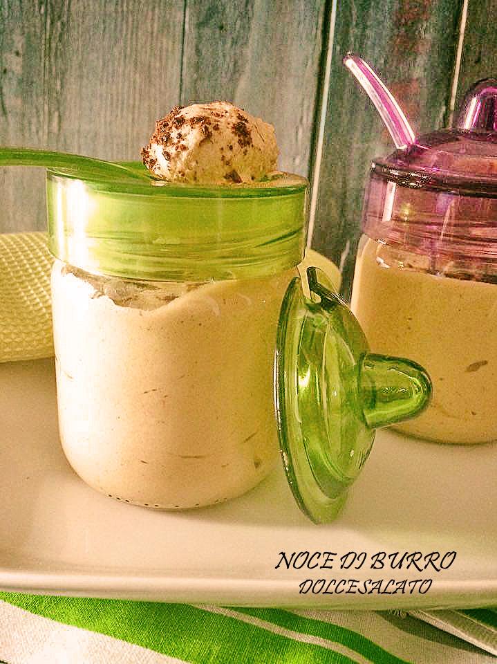 Mousse alla Nutella e crema di pistacchio