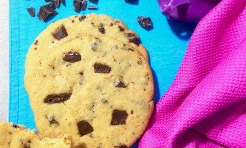 Maxi cookies e burro di noccioline