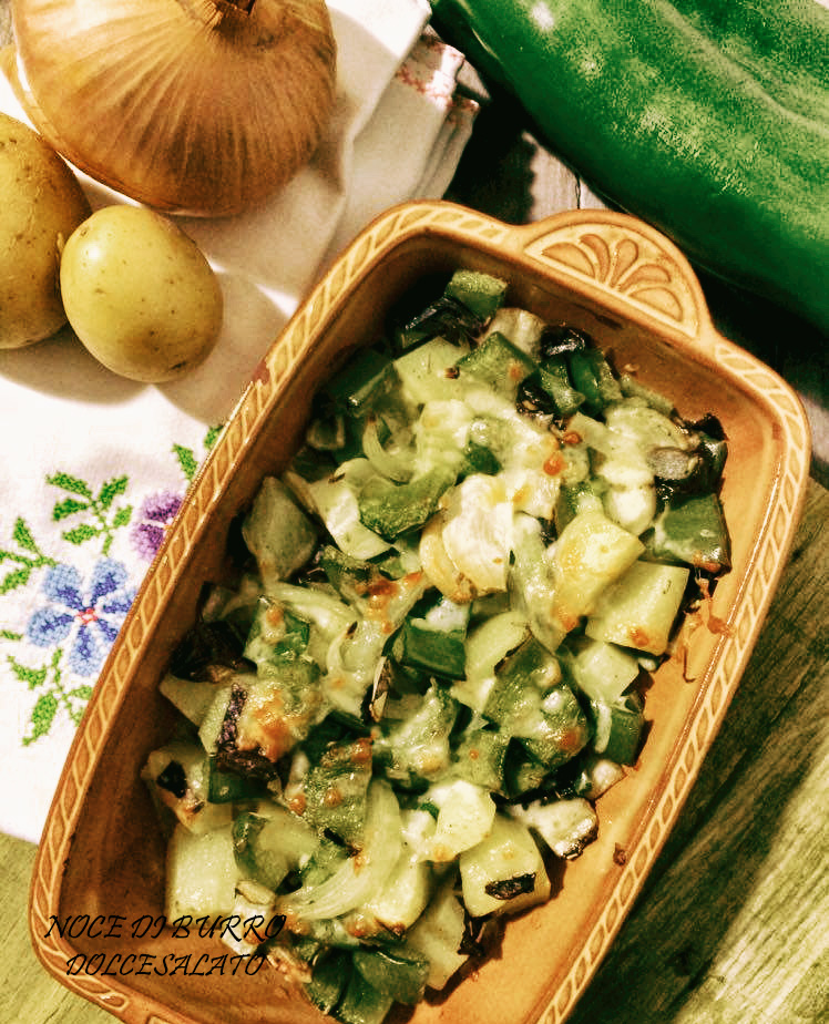 Gratin di verdure saporito
