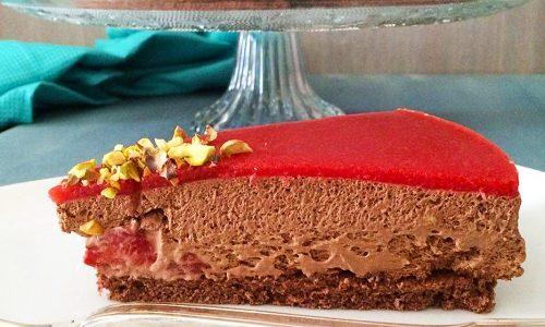 Torta mousse Elena al cioccolato