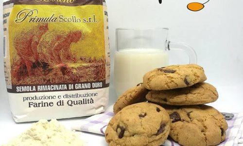 Cookies con farina di grano duro (più buoni e più salutari)