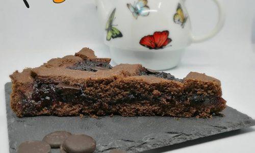 Frolla con farina di grano duro (crostata al cacao)