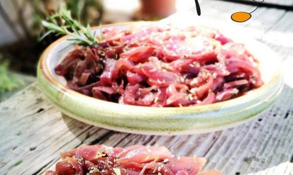 Cipolla in agrodolce (come contorno o per l'aperitivo)