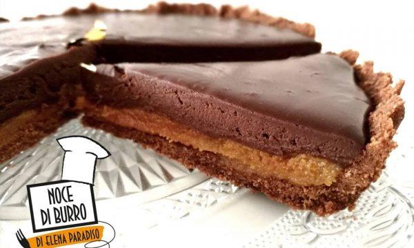 Torta cioccolatino con mou salato (ispirata a Knam)
