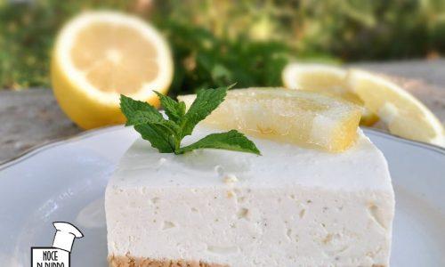 Cheesecake al mojito fresca e senza cottura