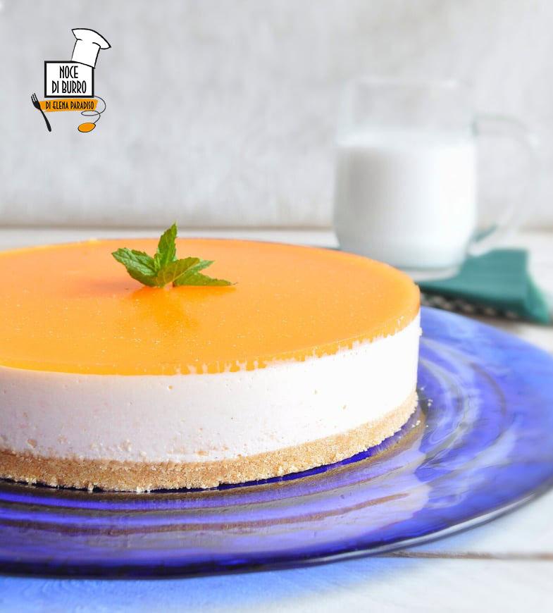 Cheesecake al melone giallo