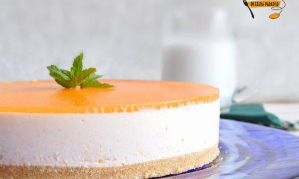 Cheesecake al melone giallo e gelè al Cantalupo