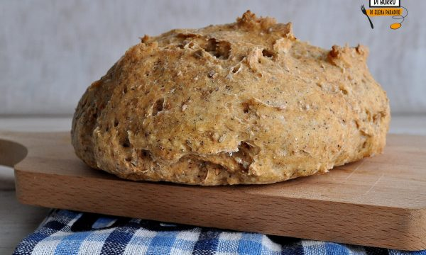 Pagnotta gluten free senza mix supercroccante