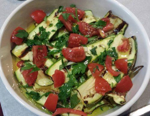 Zucchine e melanzane grigliate