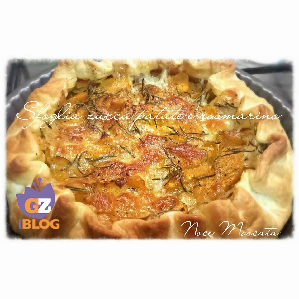 Sfoglia rustica Zucca patate e rosmarino