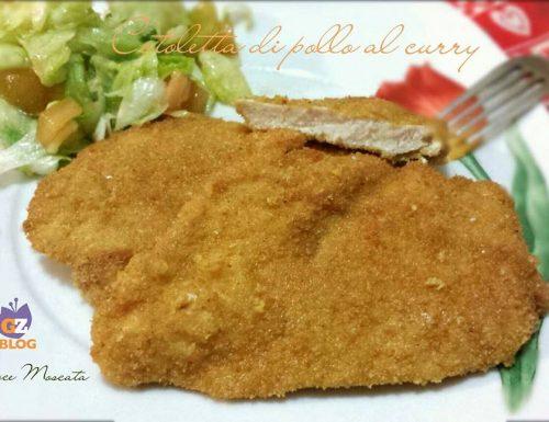 Cotoletta pollo al Curry / panatura aromatizzata