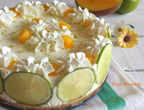 Cheesecake lime e mango