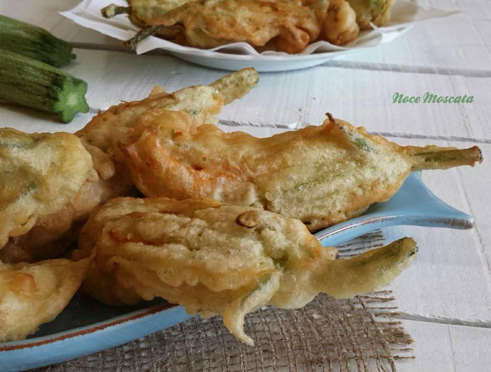 Fiori di zucca fritti in pastella consigli per un fritto for Fritti romani