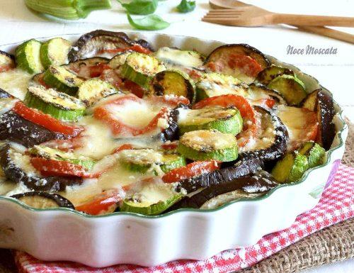 Parmigiana di verdure grigliate