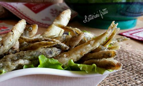 Latterini fritti