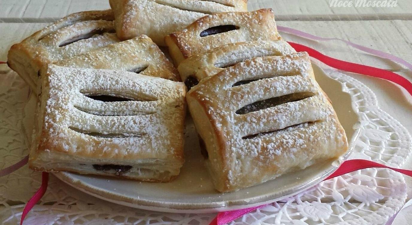 Fagottini di sfoglia al cioccolato ricetta veloce for Fritti romani