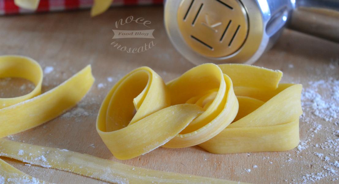 Pappardelle trafilate al bronzo ricetta all 39 uovo for Primi piatti romani