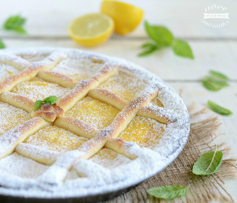 Crostata alla crema di limoni