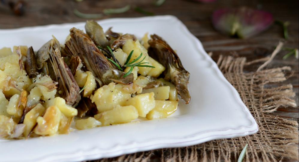 Carciofi e patate in padella contorno gustoso for Secondi piatti romani