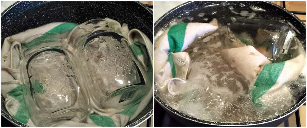 Come sterilizzare i barattoli di vetro per conserve e confetture