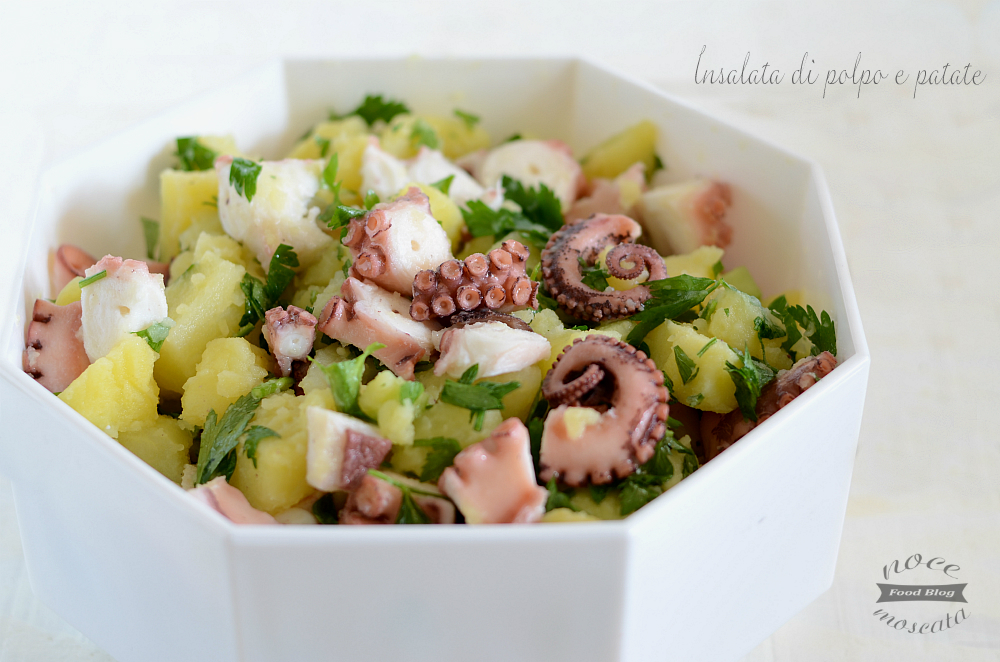 Insalata di polpo e patate, consigli per una cottura perfetta!