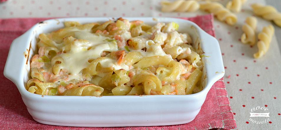 Pasta al forno salmone e panna ricetta veloce e golosa for Secondi piatti romani