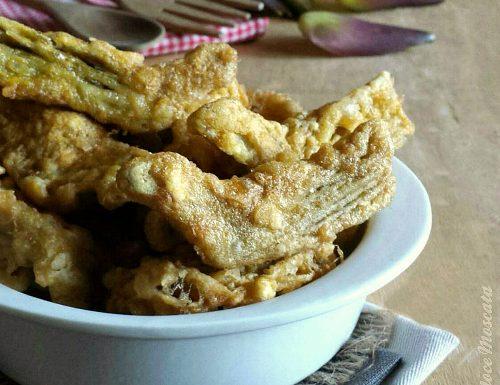 Carciofi fritti dorati